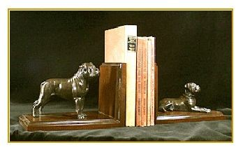 Bullmastiff - Bookends