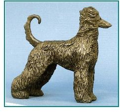 Afghan Hound - Small Standing Dog