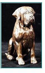 Mastiff Dog - Small Sitting