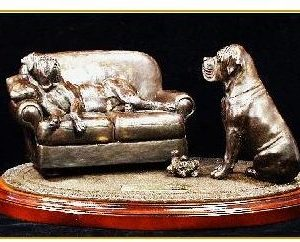 Mastiff Dog - The Gift
