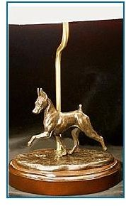 Miniature Pinscher - Desk Lamp