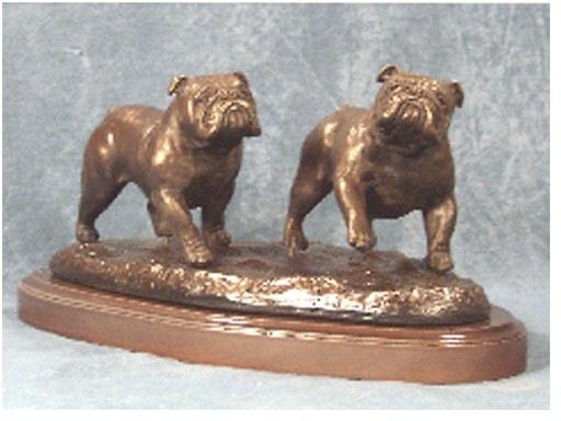 Bulldog - Small Pair Running