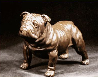 Bulldog -Small Standing Dog