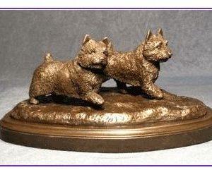 Norwich Terrier - Pair Run/Play