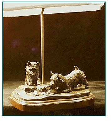 Norwich Terrier - Lamp