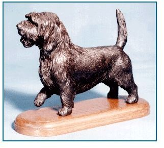 PBGV - Large Standing Dog