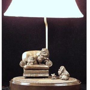 Pomeranian- Lamp