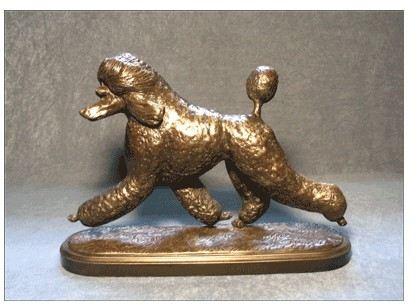 Poodle Standard - Lg. Moving Dog - Puppy Trim