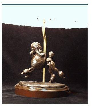 Poodle Standard - Lamp