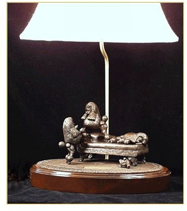Poodle Toy - Lamp - Me Too Scene