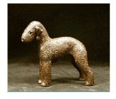 Bedlington Terrier - Small Standing
