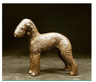Bedlington Terrier - Small Standing