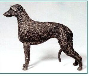 Scott. Deerhound - Small Standing Dog