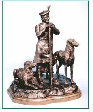 Scott. Deerhound - The Highlanders