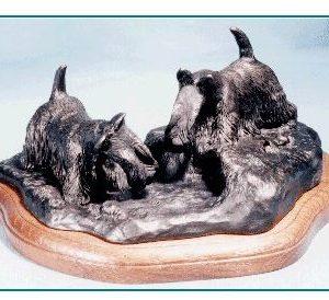 Scottish Terrier - Scotties Going to Ground