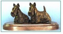 Scottish Terrier - Small Pair