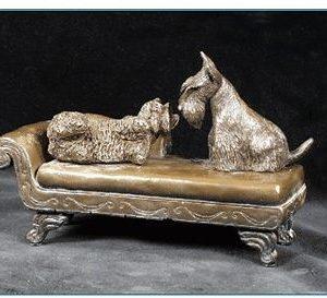 Scottish Terrier - On Lounge