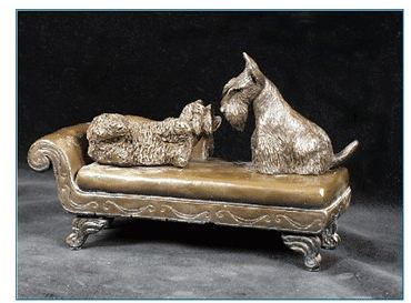 Scottish Terrier - On Lounge