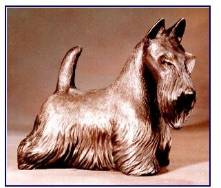Scottish Terrier - Large Scottie Standing