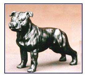 Staffordshire Bull Terr - Small Standing Dog