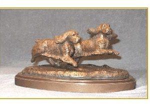 Sussex Spaniel - Small Pair Run/Play
