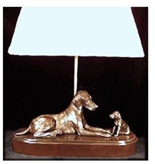 Vizsla - Adult and Puppy Lamp