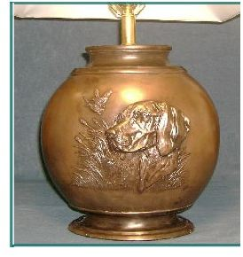 Vizsla - Large Relief Lamp