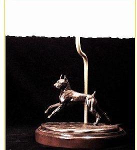 Boxer - Small Moving Dog Lamp