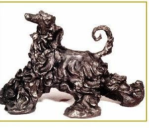 Afghan Hound - Large Moving Deco