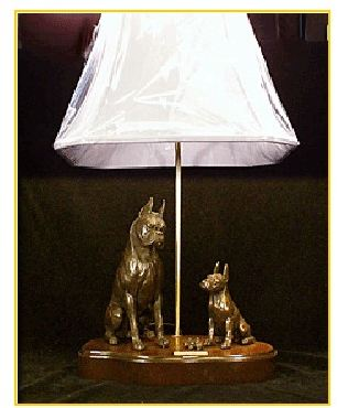 Boxer - My Hero IV Lamp