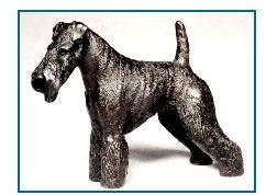 Welsh Terrier - Small Standing Dog