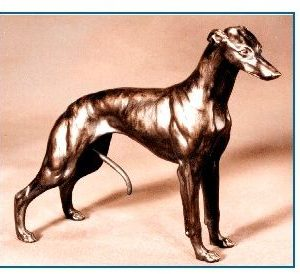 Whippet - Large Standing