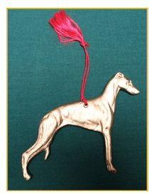 Whippet - Ornament Hanger