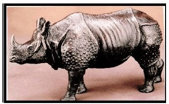 Limited Edition - Indian Rhinoceros