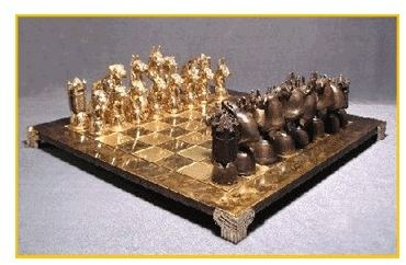 Boxer - Foundry Bronze Chess Set
