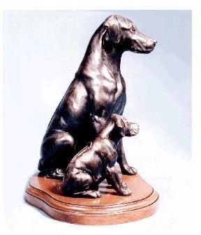 Rhodesian Ridgeback - Mom and Pup