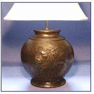 Rhodesian Ridgeback - Oval Lamp