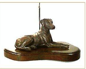 Rhodesian Ridgeback - Large Lying Dog (Lamp)