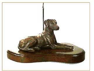 Rhodesian Ridgeback - Large Lying Dog (Lamp)