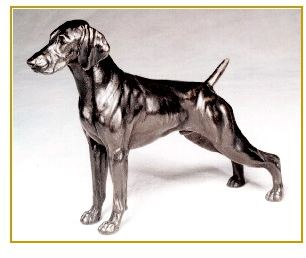 German Shorthair Pointer - Small Standing Dog