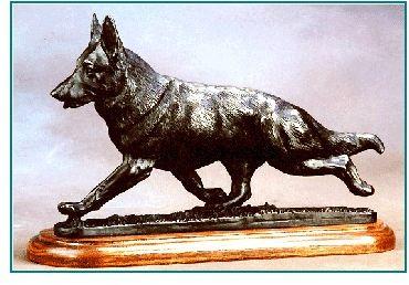 German Shepherd Dog -Flying Trot