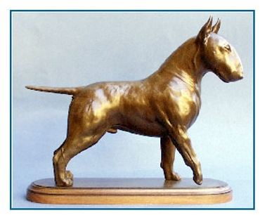 Bull Terrier - Large Standing Dog