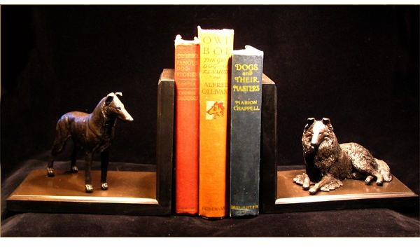 Collie Duo - Bookends