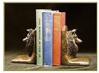 Shetland Sheepdog - Bookends