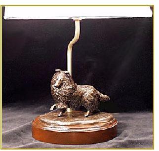 Shetland Sheepdog - Desk Lamp