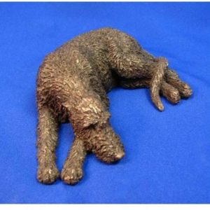 Irish Wolfhound Dog - Small Lying