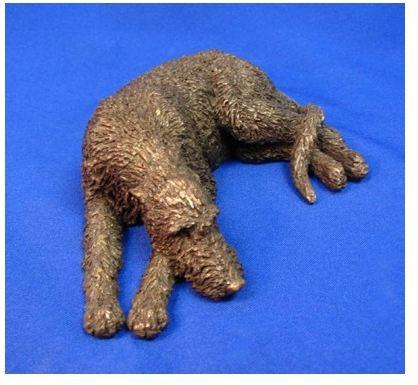 Irish Wolfhound Dog - Small Lying