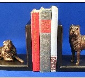 Chinese Shar Pei - Bookends
