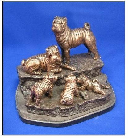 Chinese Shar Pei - Family Outing I