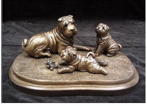 Chinese Shar Pei - Mom and Pups